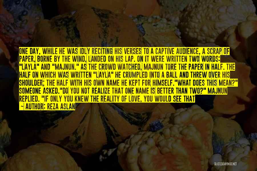Words Mean Nothing Quotes By Reza Aslan