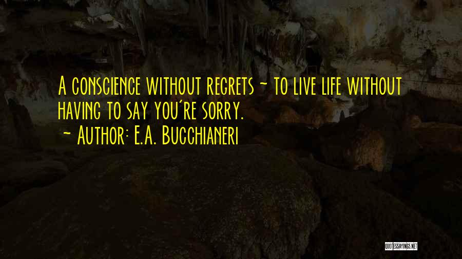 Words Of Advice Quotes By E.A. Bucchianeri