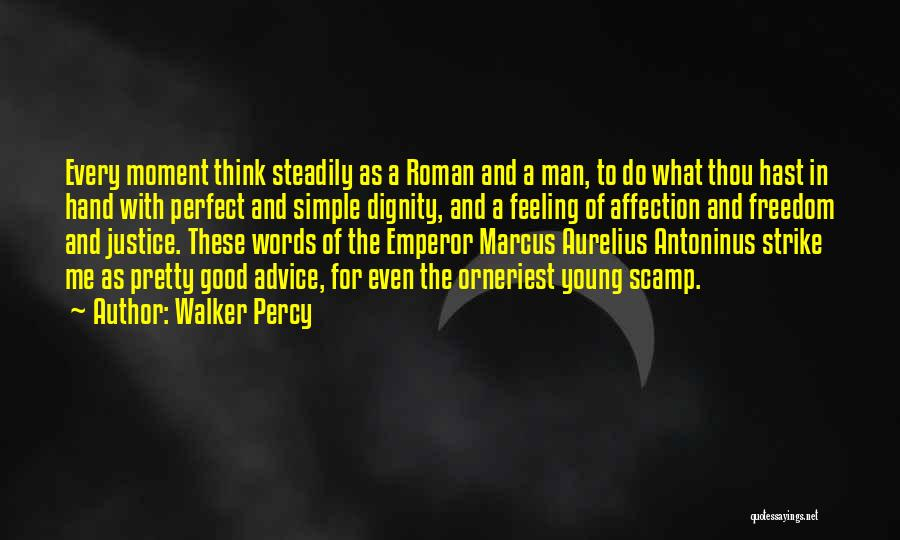 Words Of Advice Quotes By Walker Percy