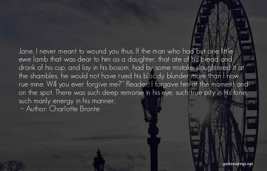 Words Of True Love Quotes By Charlotte Bronte