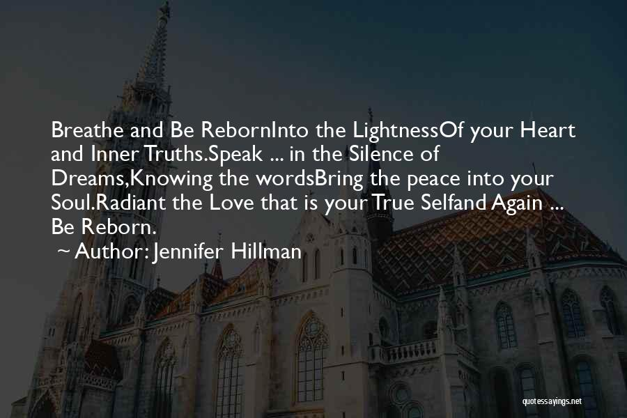 Words Of True Love Quotes By Jennifer Hillman