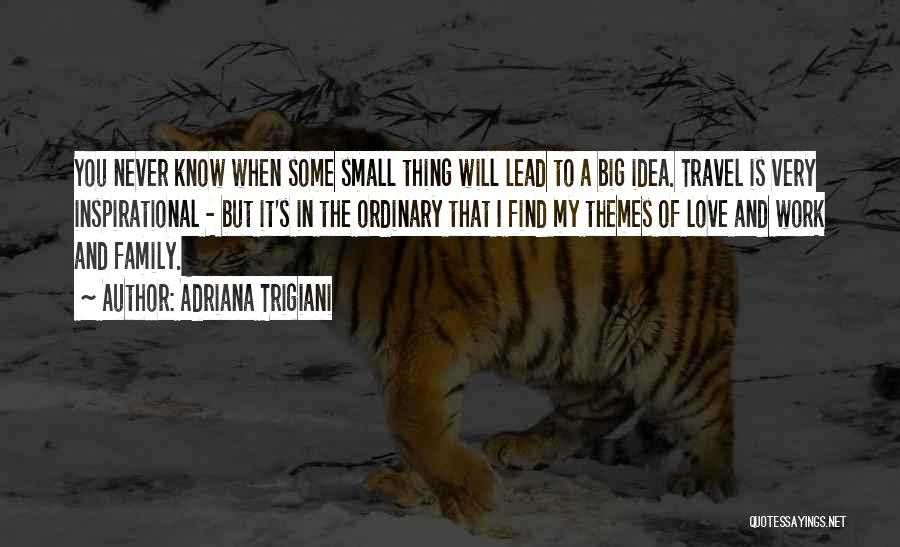 Work And Travel Quotes By Adriana Trigiani