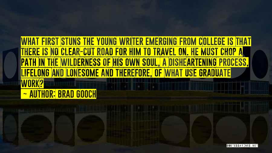 Work And Travel Quotes By Brad Gooch