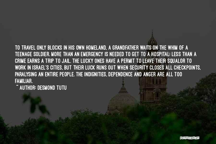 Work And Travel Quotes By Desmond Tutu