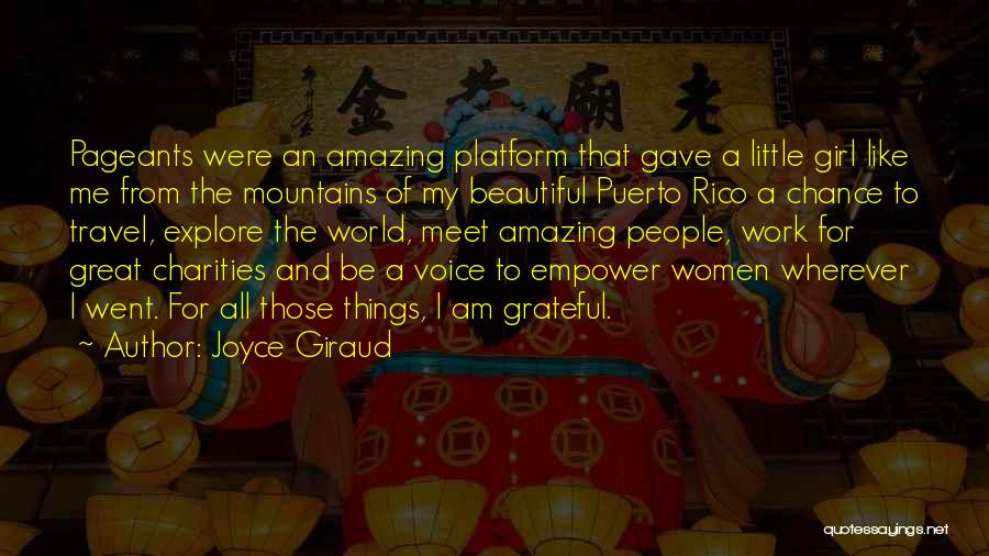 Work And Travel Quotes By Joyce Giraud