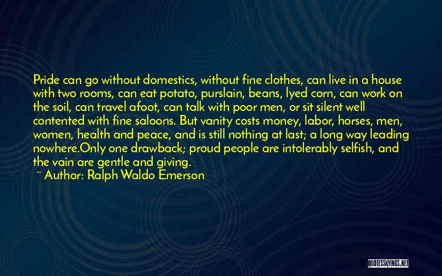 Work And Travel Quotes By Ralph Waldo Emerson