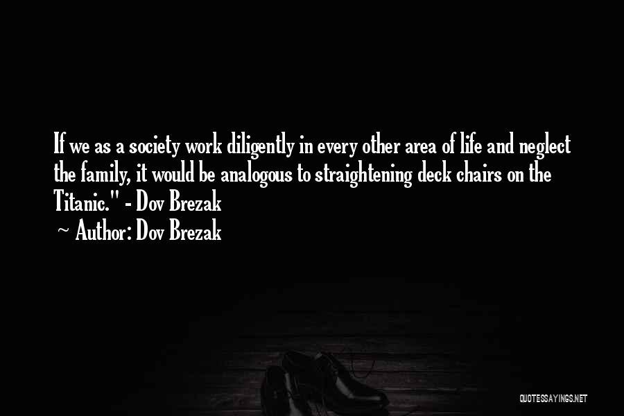 Work Area Quotes By Dov Brezak