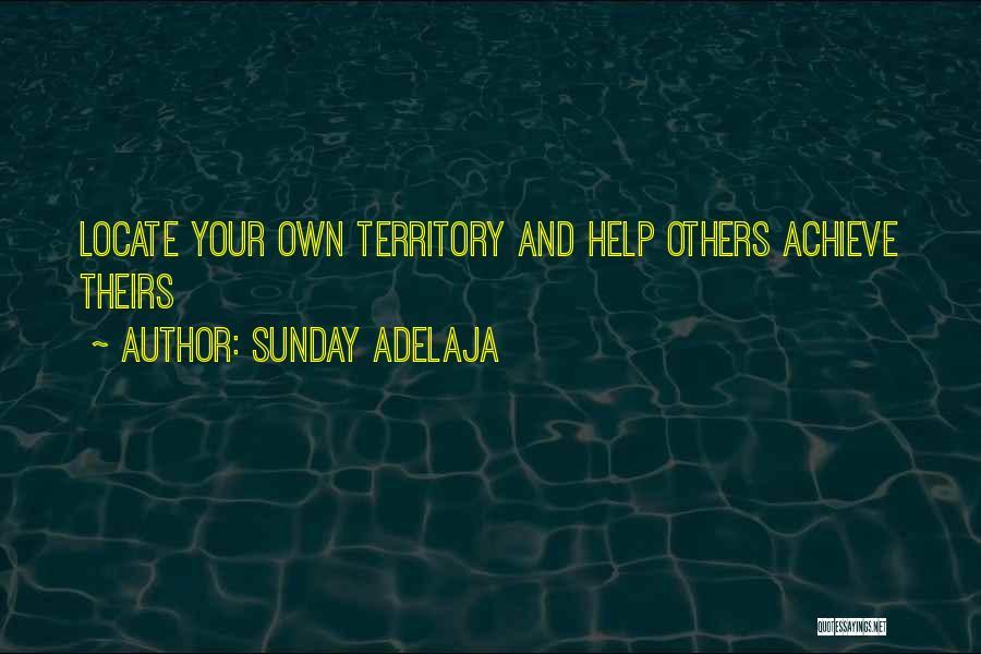 Work Area Quotes By Sunday Adelaja