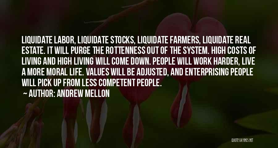 Work Hard Live Well Quotes By Andrew Mellon