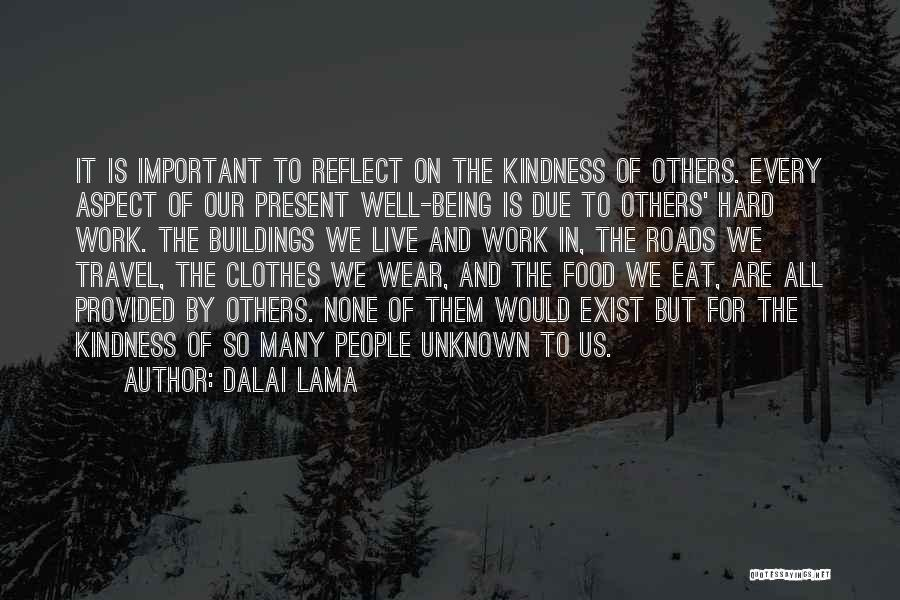 Work Hard Live Well Quotes By Dalai Lama