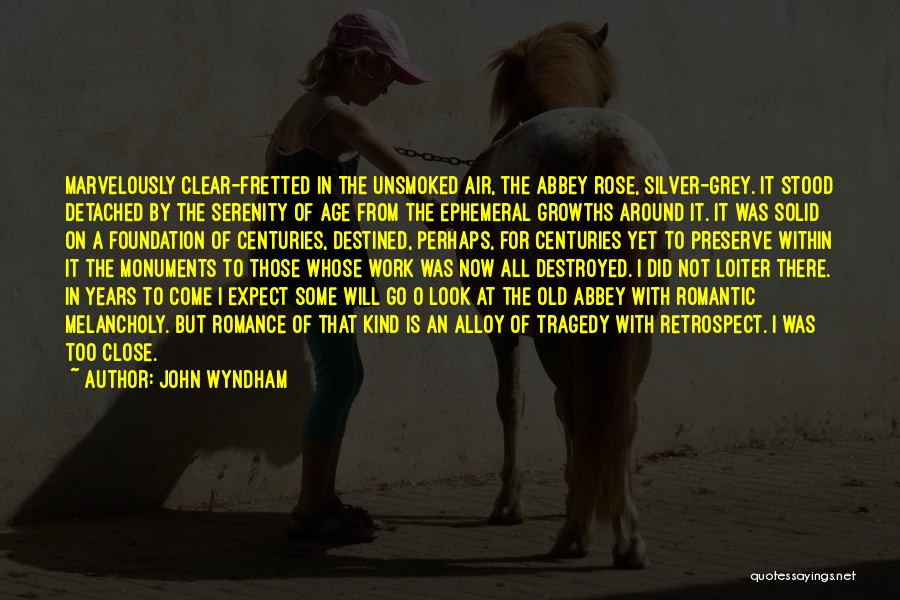 Work Is For Quotes By John Wyndham