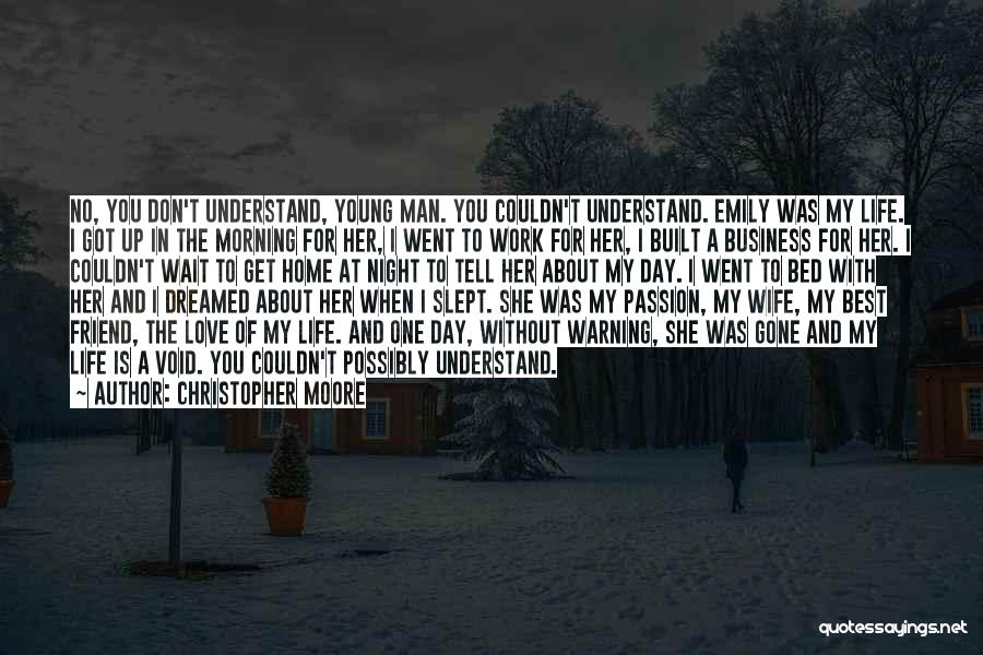 Work Is Passion Quotes By Christopher Moore