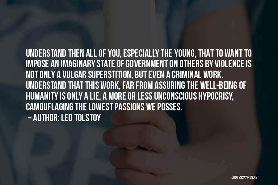 Work Is Passion Quotes By Leo Tolstoy