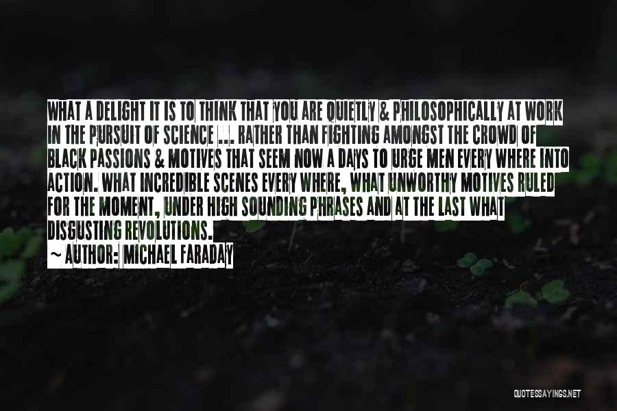 Work Is Passion Quotes By Michael Faraday