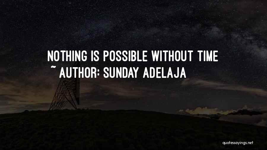 Work Is Passion Quotes By Sunday Adelaja
