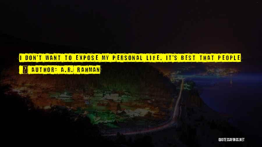 Work Like Family Quotes By A.R. Rahman