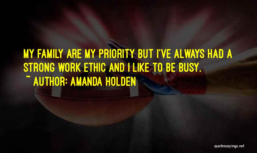 Work Like Family Quotes By Amanda Holden