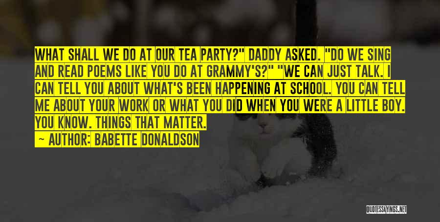 Work Like Family Quotes By Babette Donaldson
