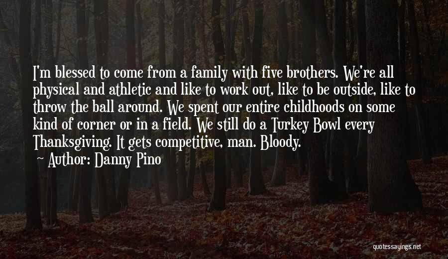 Work Like Family Quotes By Danny Pino