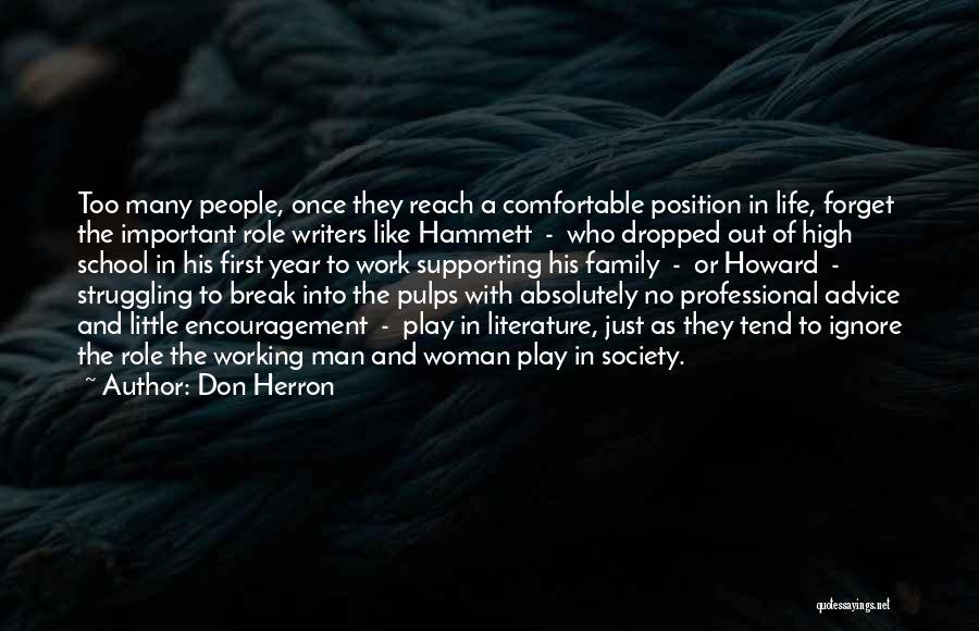 Work Like Family Quotes By Don Herron