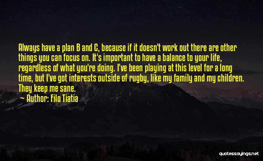 Work Like Family Quotes By Filo Tiatia