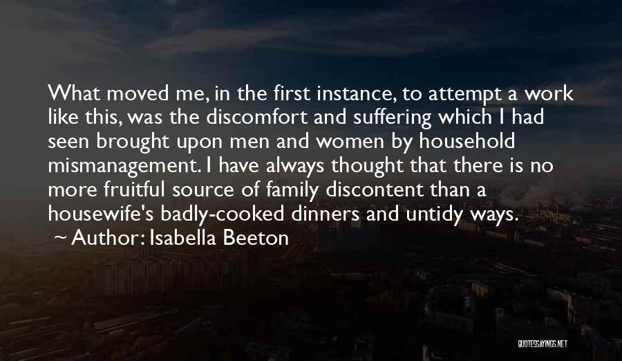 Work Like Family Quotes By Isabella Beeton