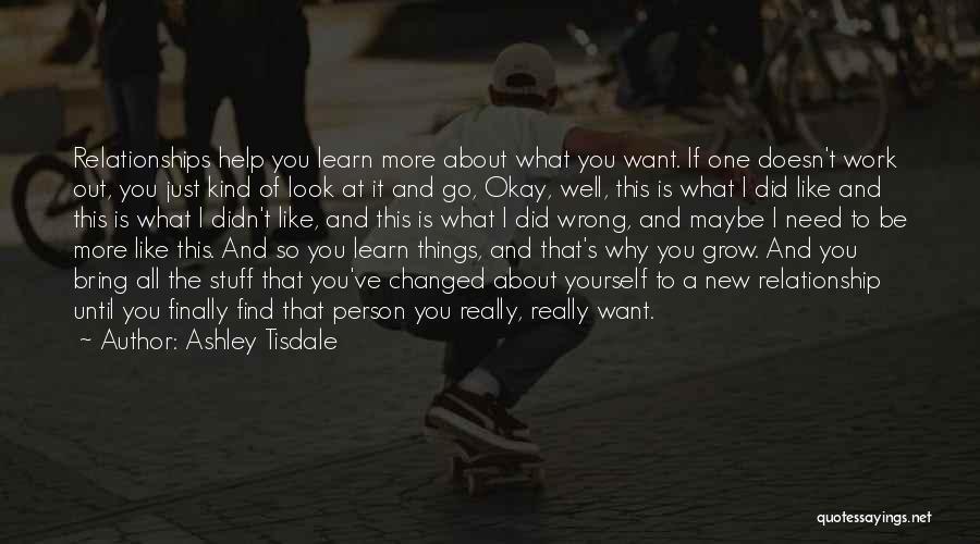 Work Until Quotes By Ashley Tisdale