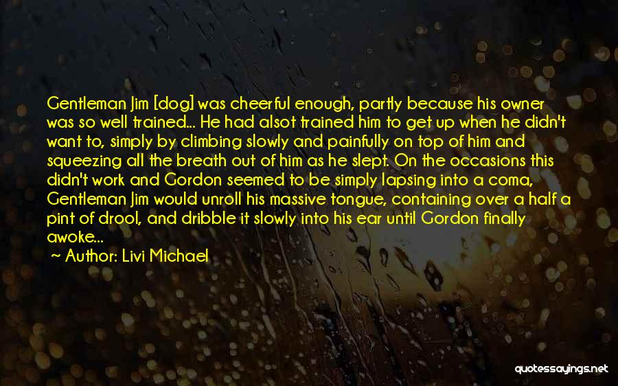 Work Until Quotes By Livi Michael
