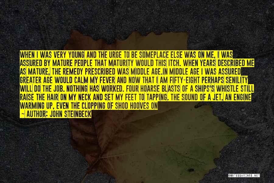 Worked Up Quotes By John Steinbeck