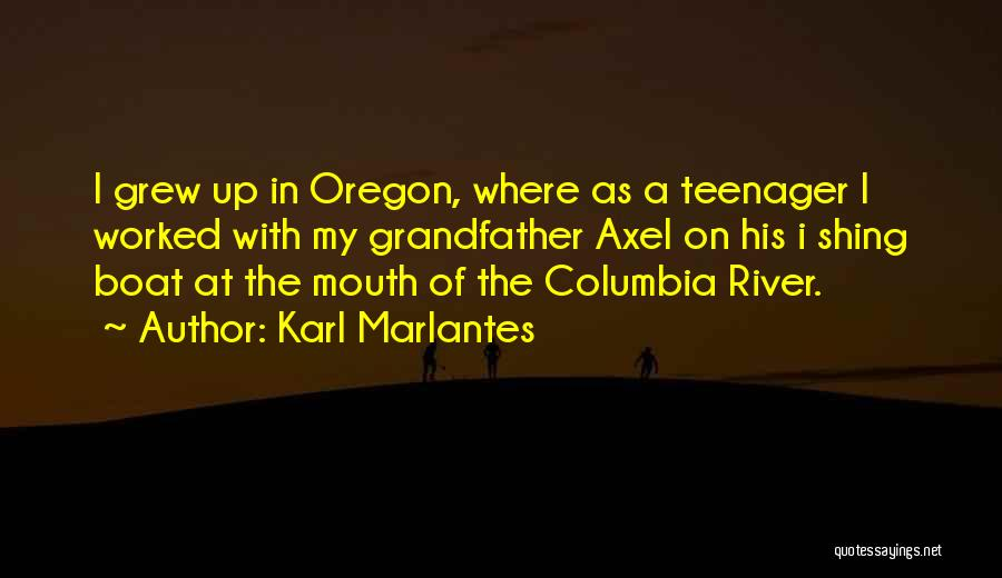 Worked Up Quotes By Karl Marlantes