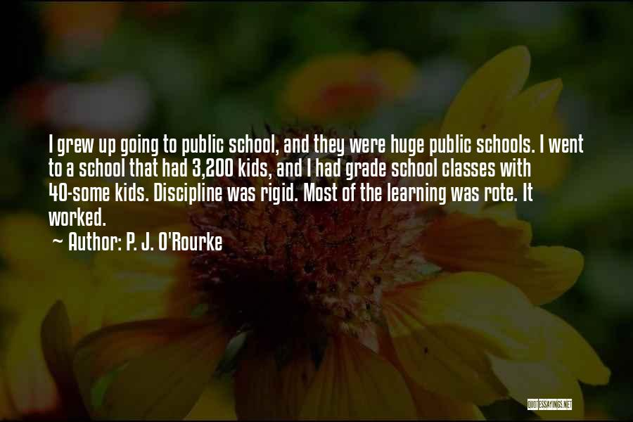 Worked Up Quotes By P. J. O'Rourke