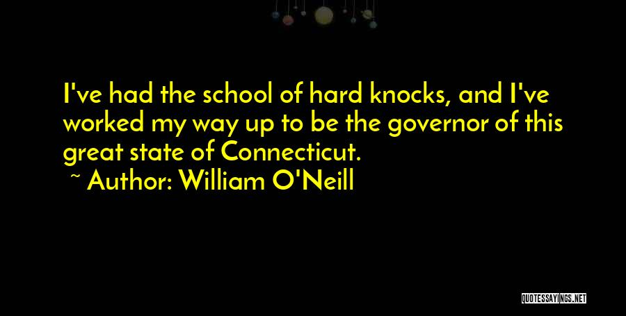 Worked Up Quotes By William O'Neill