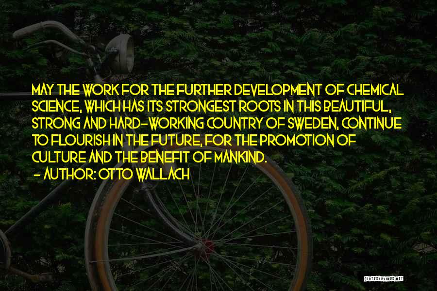 Working Hard For Your Future Quotes By Otto Wallach