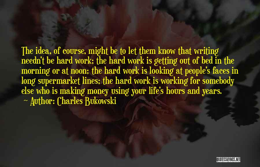 Working Hours Quotes By Charles Bukowski