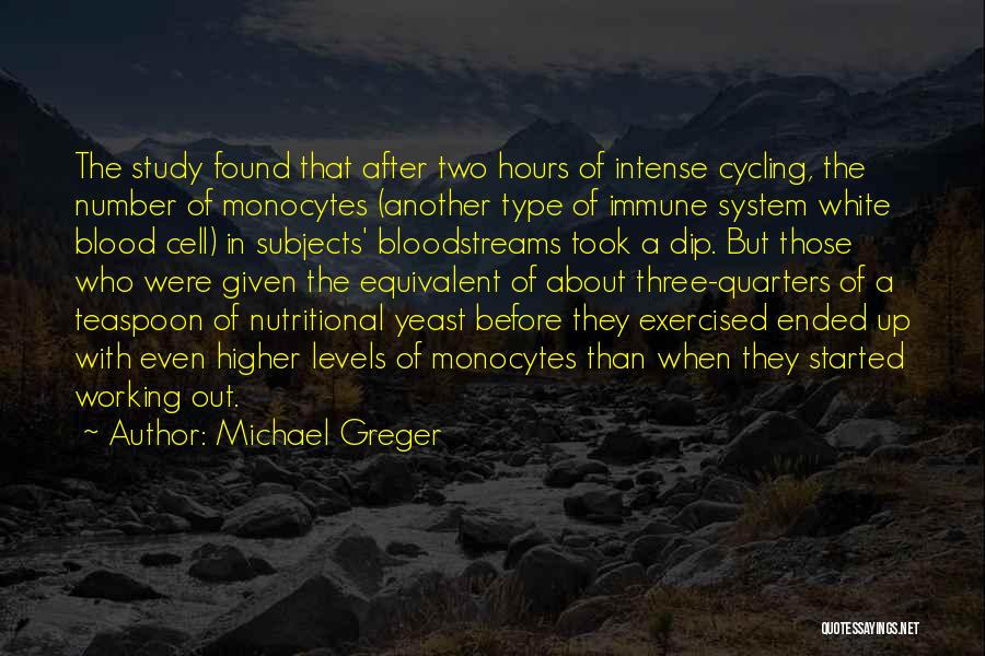 Working Hours Quotes By Michael Greger