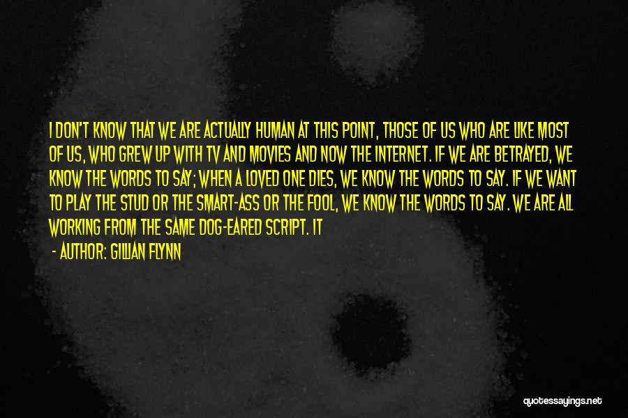 Working Like A Dog Quotes By Gillian Flynn