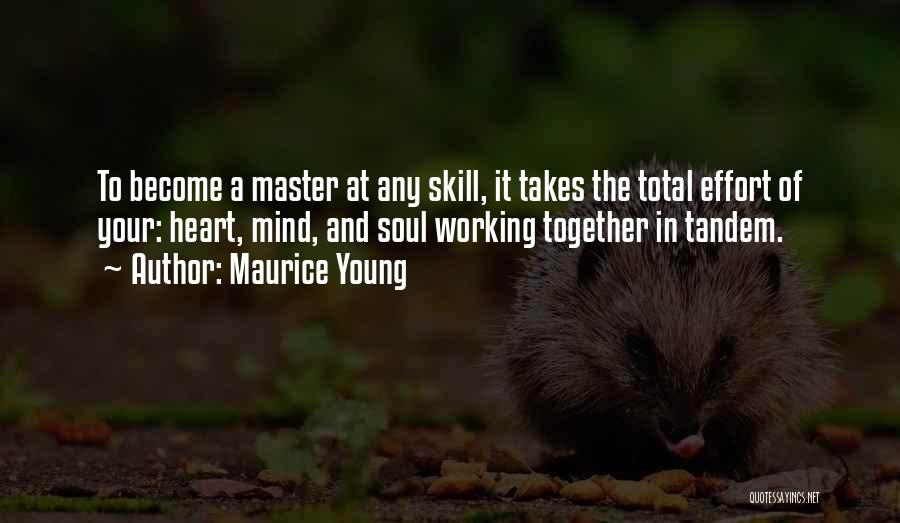 Working Out Motivational Quotes By Maurice Young