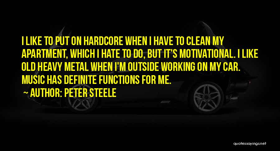 Working Out Motivational Quotes By Peter Steele