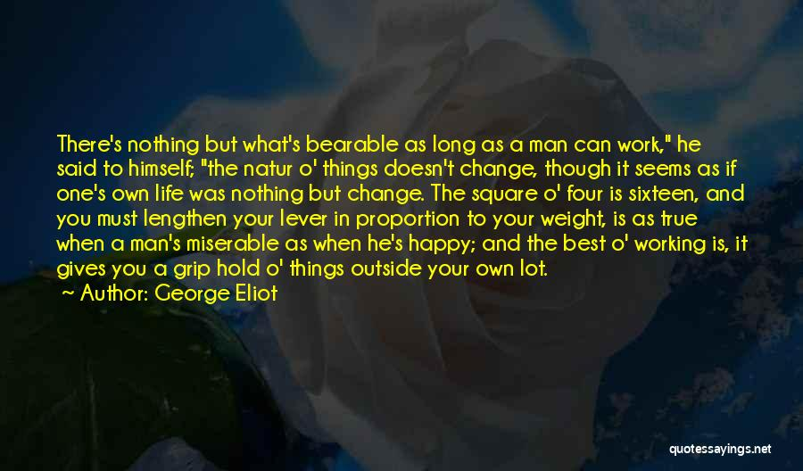 Working Outside Quotes By George Eliot
