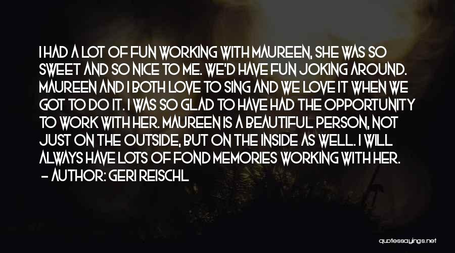 Working Outside Quotes By Geri Reischl