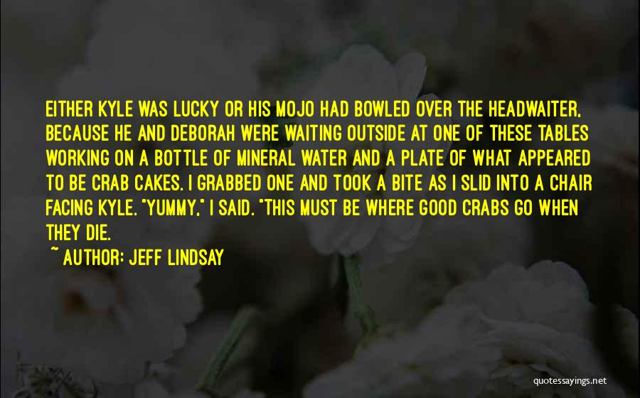 Working Outside Quotes By Jeff Lindsay