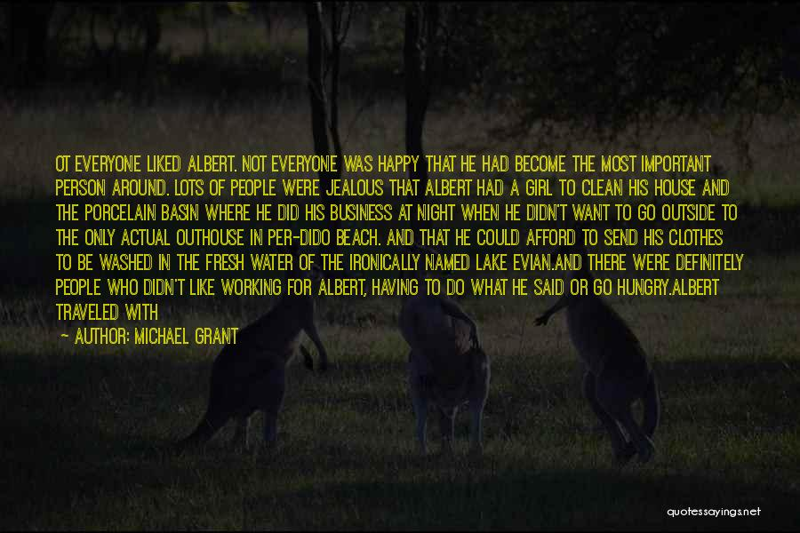 Working Outside Quotes By Michael Grant