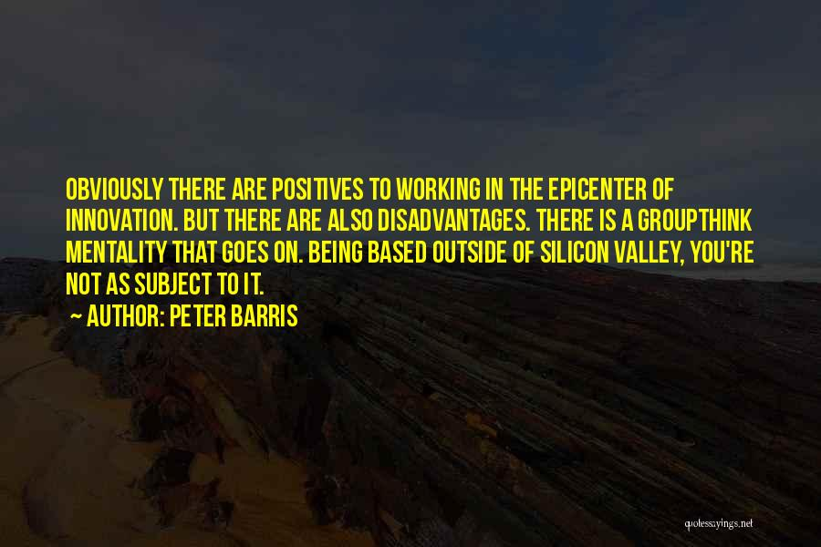 Working Outside Quotes By Peter Barris
