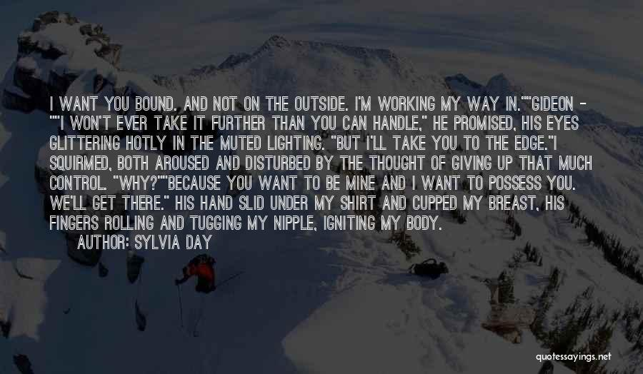 Working Outside Quotes By Sylvia Day