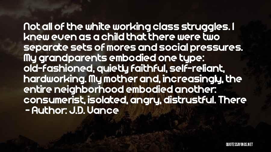 Working Quietly Quotes By J.D. Vance