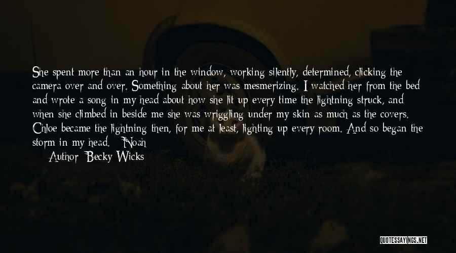 Working Silently Quotes By Becky Wicks