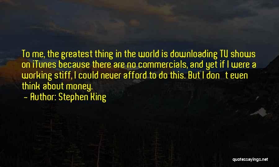 Working Stiff Quotes By Stephen King