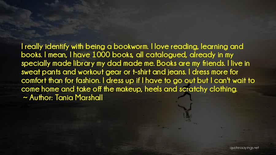 Workout Sweat Quotes By Tania Marshall