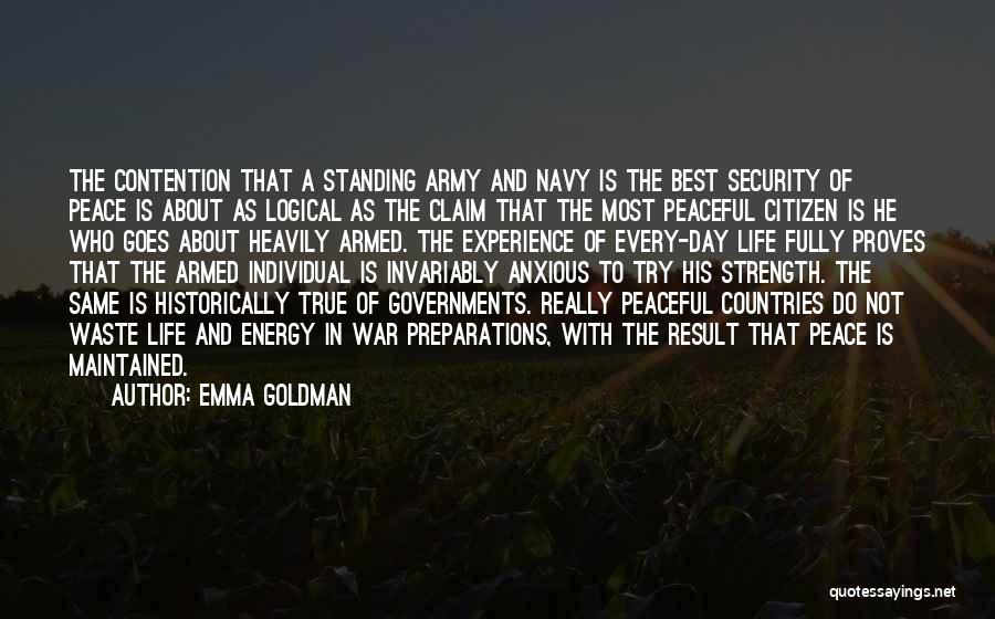 World Citizen Quotes By Emma Goldman
