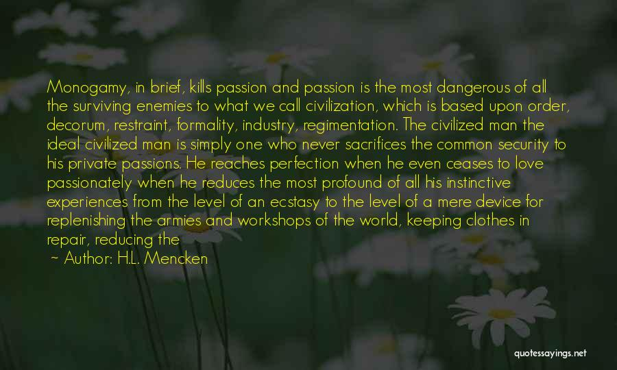 World Citizen Quotes By H.L. Mencken